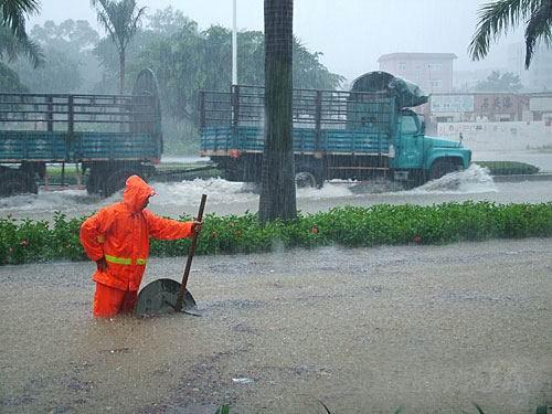 effect of heavy rain to people