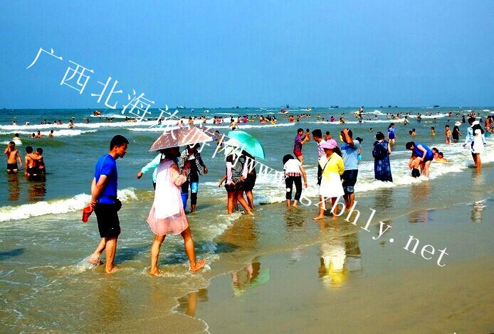"""16万人""""五一""""游北海银滩::广西北海旅行社_广西北海网"""
