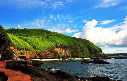 北海旅游关注:涠洲岛鳄鱼山景区5a创建项目