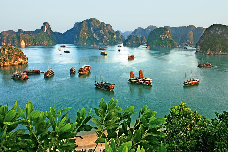 广西北海环球国际旅行社 越南旅游